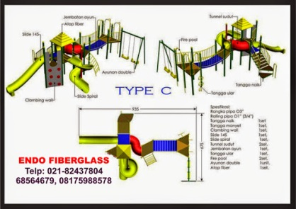 Memproduksi playground outdoor murah berkualitas